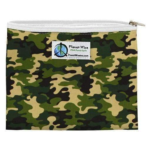 Planet Wise Zipper Sandwich Bag - Camo