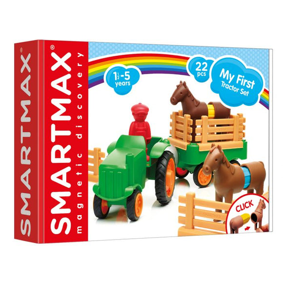 SmartMax My First Farm Tractor Set