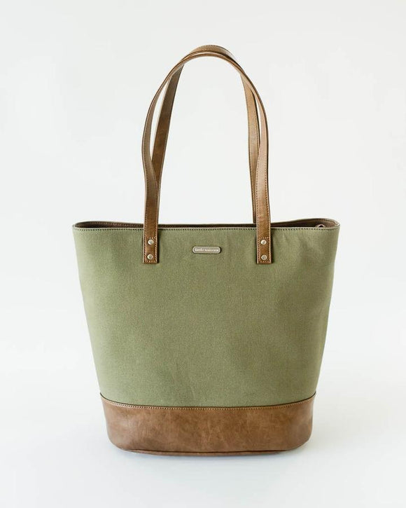 Little Unicorn Boardwalk Tote - Olive