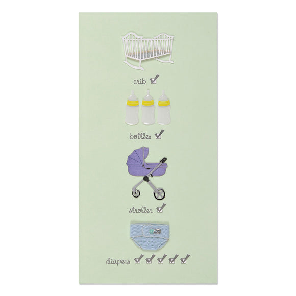 Greeting Card - Baby Checklist