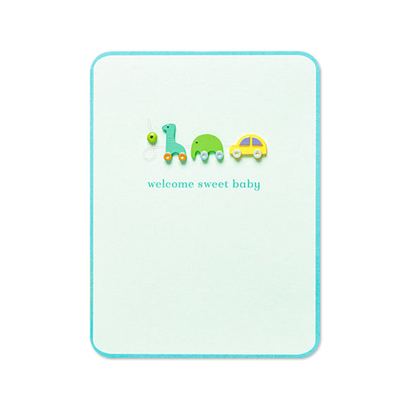 Greeting Card - Baby - Welcome