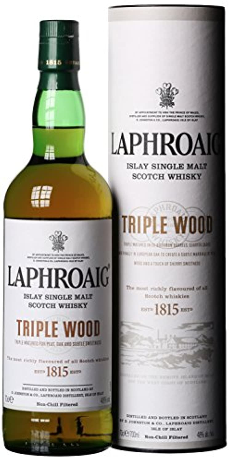 Laphroaig Triple Wood Islay Single Malt Scotch Whisky (1 x 0.7l)
