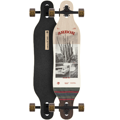 "Arbor Axis 37"" Photo Longboard Complete"