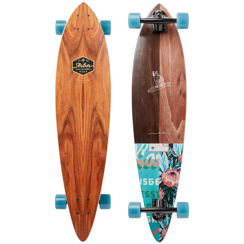 Arbor Fish 37 Groundswell Longboard Complete