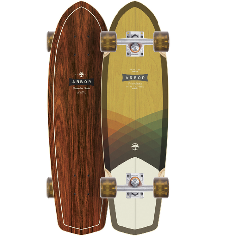 Arbor Pocket Rocket Foundation Mini Cruiser Longboard