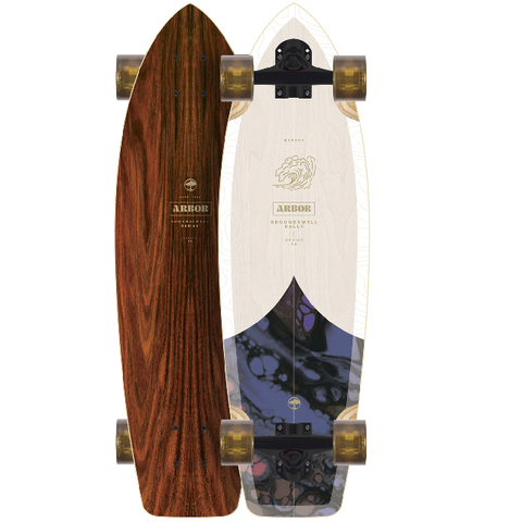 Arbor Rally Groundswell Longboard 2021