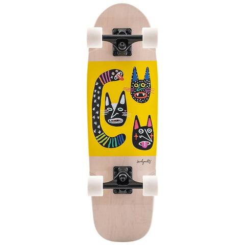 Landyachtz Dinghy Blunt Wild Cats Mini Cruiser