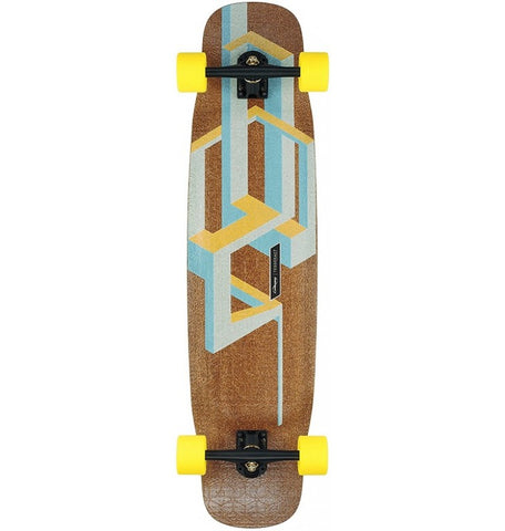Loaded Basalt Tesseract Longboard  - Mango