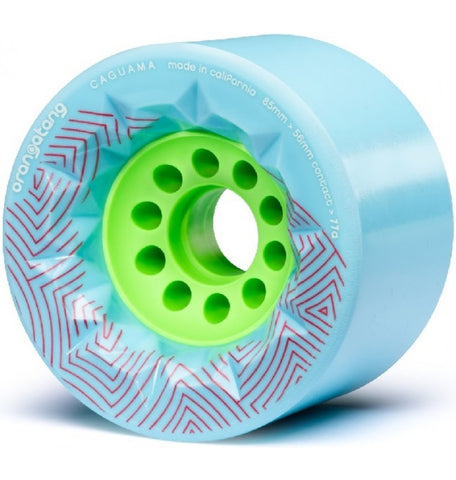 Orangatang Caguama Longboard Wheels 85mm 77a Blue