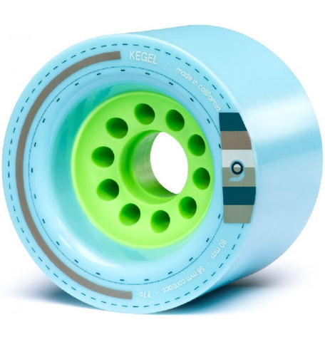 Orangatang Kegel Longboard Wheels Blue 80mm 77a