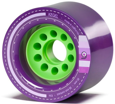 Orangatang Kegel Longboard Wheels Purple 80mm 83a