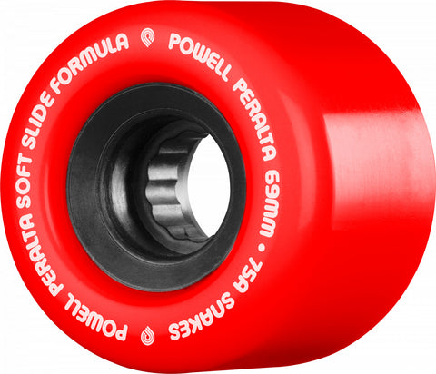 Powell Peralta Snakes Longboard Wheels 69mm 75a Red