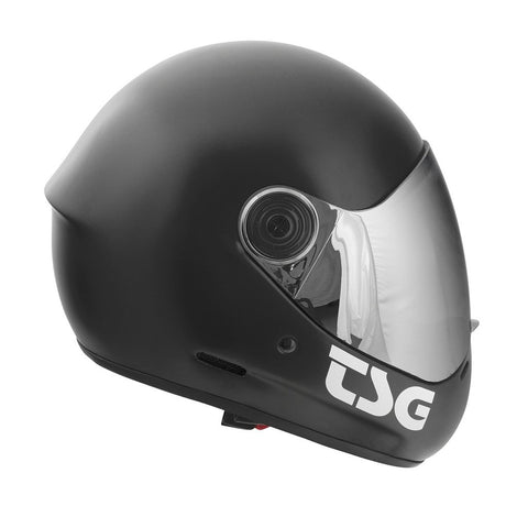 TSG Black Full Face Helmet