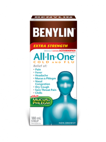 BENYLIN 1 COLD & FLU 270ML - Queensborough Community Pharmacy
