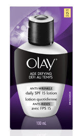 OLAY AGE DEFYING ANTI-WRINKLE UV LOTION 100ML - Queensborough Community Pharmacy