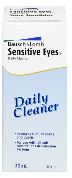 B & L SENS EYES DAILY CLEANER 30ML - Queensborough Community Pharmacy