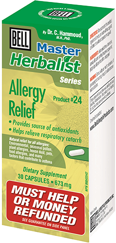 Bell #24 Allergy Relief 30 Caps - Queensborough Community Pharmacy