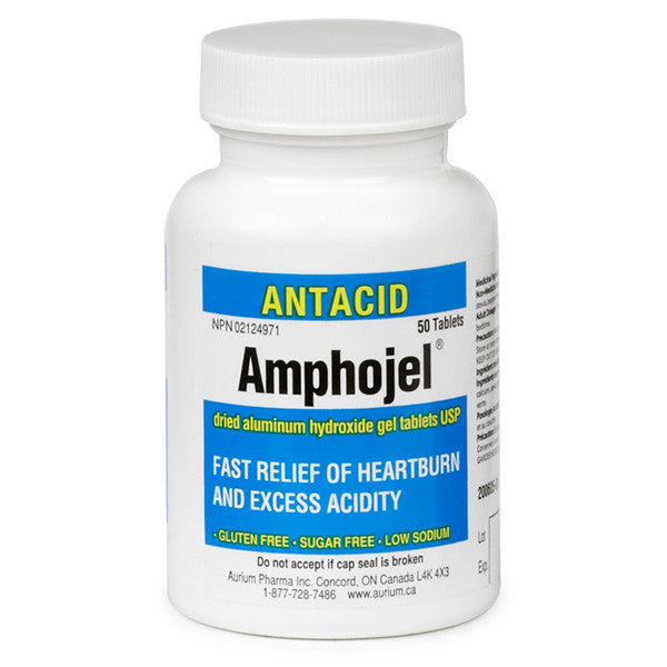 AMPHOJEL TABS 50'S - Queensborough Community Pharmacy