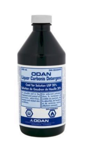 ODAN LIQUOR CARBONIS (20% COAL TAR SOLUTION) 500ML - Queensborough Community Pharmacy