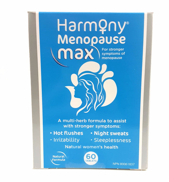 HARMONY MENOPAUSE MAX 60's - Queensborough Community Pharmacy - 1