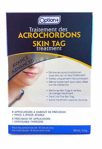 OPTION+ ADVANCED SKIN TAG TREATMENT 8's