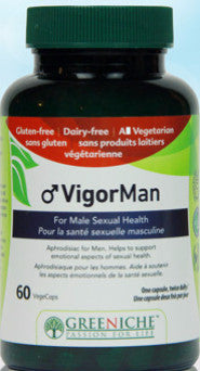 GREENICHE VIGORMAN SEX HEALTH MEN CAPS 60 - Queensborough Community Pharmacy