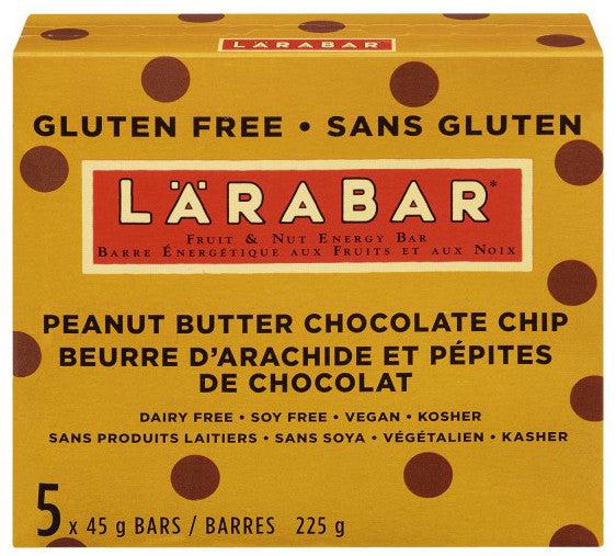 LARABAR PB CHOCOLATE CHIP 5'S - Queensborough Community Pharmacy