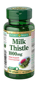 NATURE'S BOUNTY MILK THISTLE 50'S - Queensborough Community Pharmacy