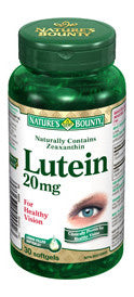NATURE'S BOUNTY LUTEIN SOFTGELS 30'S - Queensborough Community Pharmacy