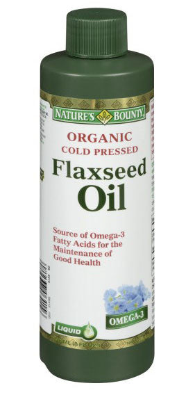 NATURE'S BOUNTY FLAXSEED OIL 236ML - Queensborough Community Pharmacy
