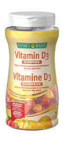 NATURES BOUNTY VIT D GUMMIES 90'S - Queensborough Community Pharmacy