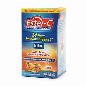 ESTER-C 500MG TABS 90'S - Queensborough Community Pharmacy