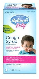 HYLAND'S COUGH SYRUP BABY 118ML - Queensborough Community Pharmacy