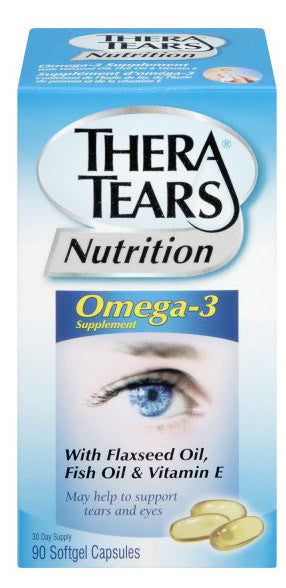 THERA TEARS NUTRITION 90CT - Queensborough Community Pharmacy