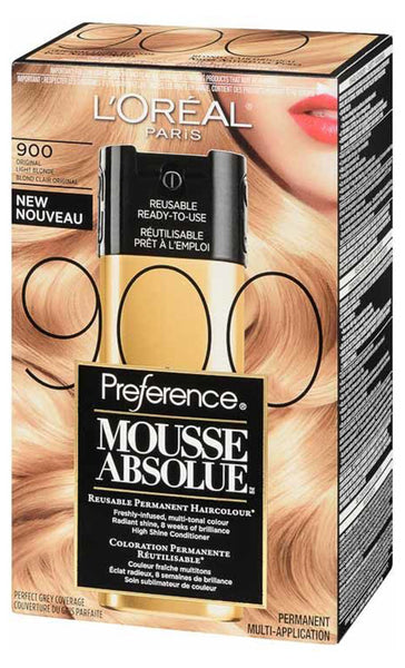 L'OREAL PREFERENCE MOUSSE ABSOLUE #900 1'S - Queensborough Community Pharmacy