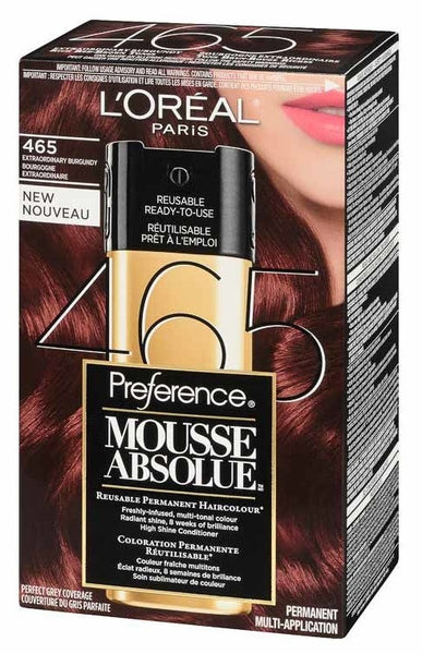 L'OREAL PREFERENCE MOUSSE ABSOLUE #465 1'S - Queensborough Community Pharmacy