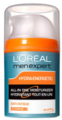 L'OREAL MEN EXPERT HYDRA ENERGETIC ALL-IN-ONE 75ML - Queensborough Community Pharmacy