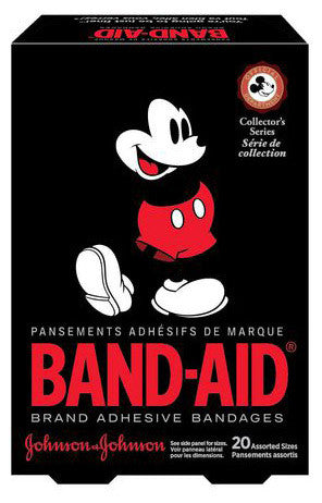 J&J BAND-AID DISNEY MICKEY ASST 20'S - Queensborough Community Pharmacy