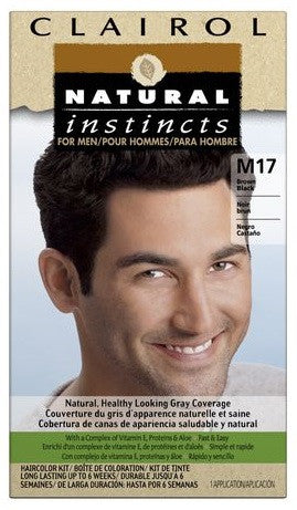 NATURAL INSTINCTS MEN BROWN BLACK #M17 - Queensborough Community Pharmacy