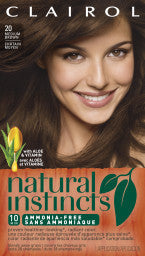NATURAL INSTINCTS BASE FEMALE HAIR COLOR MOUSSE/CREAM MEDIUM BROWN 1'S - Queensborough Community Pharmacy