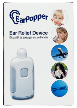 EAR POPPER PRESSURE RELEASE DEVICE - Queensborough Community Pharmacy