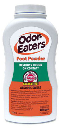ODOR EATERS FOOT POWDER 170G - Queensborough Community Pharmacy