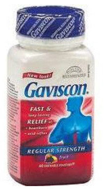 GAVISCON TABS FRUIT 40'S - Queensborough Community Pharmacy