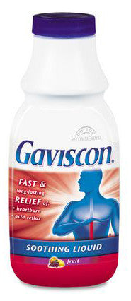 GAVISCON LIQUID FRUIT 340ML - Queensborough Community Pharmacy