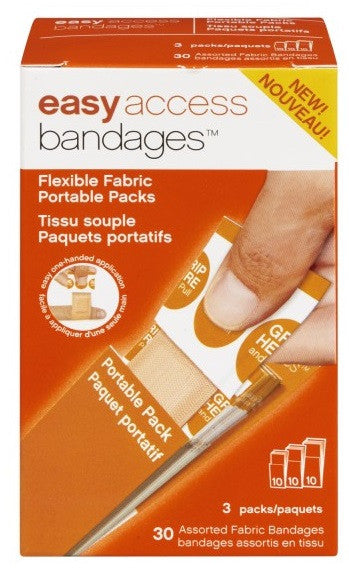 EASY ACCESS BANDAGE FLEXIBLE FABRIC30'S - Queensborough Community Pharmacy