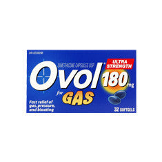 OVOL SOFTGEL ULTRA STR 180MG 32'S - Queensborough Community Pharmacy