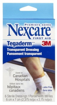 3M TEGADERM 6CMX7CM #400W 6'S - Queensborough Community Pharmacy