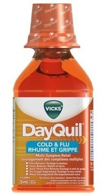 VICKS DAYQUIL COLD&FLU LIQUID 236ML - Queensborough Community Pharmacy
