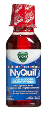 VICKS CHILDREN'S NYQUIL 236ML - Queensborough Community Pharmacy