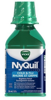 vicks nyquil cold original 236ml